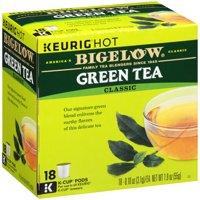 Bigelow Green Tea Coffee Podss, 18 pods
