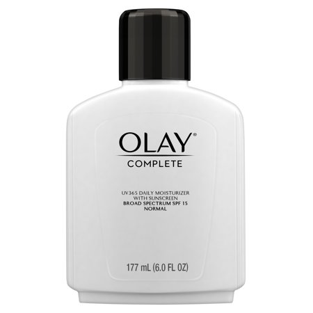 Olay Complete Lotion Moisturizer with SPF 15 Normal, 6.0 fl oz