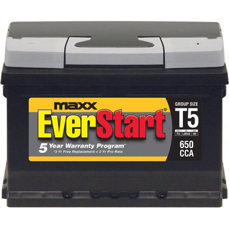 Everstart Maxx Lead Acid Automotive Battery Group T5 Walmart Com