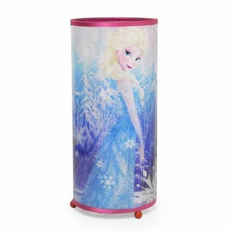 Disney Frozen Cylinder Glitter Lamp