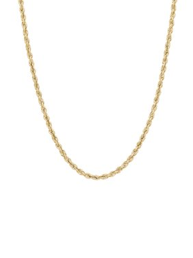 """Simply Gold™ 10K Yellow Gold 2.9mm Rope Chain Necklace, 22"""""""
