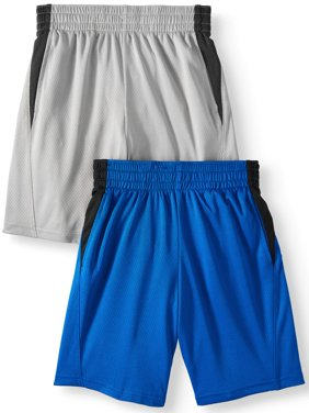 Mesh Shorts Value, 2-Pack (Little Boys & Big Boys)