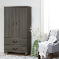 South Shore Noble Armoire with Drawers, Multiple Finishes