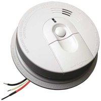 Smoke Alarm,Ionization,120VAC, 9V FIREX i4618