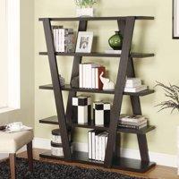 Coaster Company Modern 4-Tier Bookcase, Cappuccino