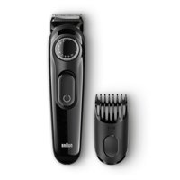 Braun BT3020 Men's Beard Trimmer, 20 Precision Length Settings for Ultimate Precision, Includes Adaptable Comb