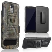 Galaxy Grand Prime Case, Ring & Magnetic Dual Layers [Combo Holster] with [
