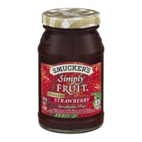 (3 Pack) Smucker's Simply Fruit Strawberry Seedless Spreadable Fruit, 10-Ounce
