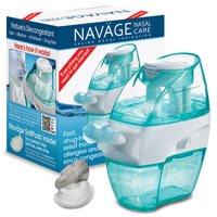 Navage Nasal Irrigation Basic Bundle: Navage Nose Cleaner and 18 SaltPod Capsules.