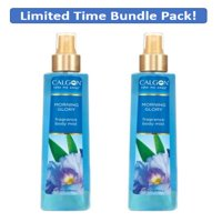 (2 Pack) Calgon Calgon Take Me Away Morning Glory Body Mist for Women 8 oz