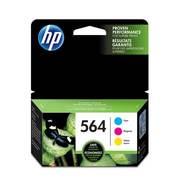 HP 564 3-pack Cyan/Magenta/Yellow Original Ink Cartridges