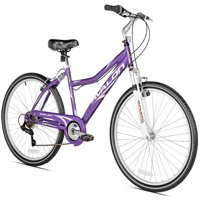 "Kent 26"" Women's, Avalon Cruiser Bike with Full Suspension, Purple"