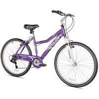 "NEXT 26"" Women's, Avalon Cruiser Bike with Full Suspension, Purple"