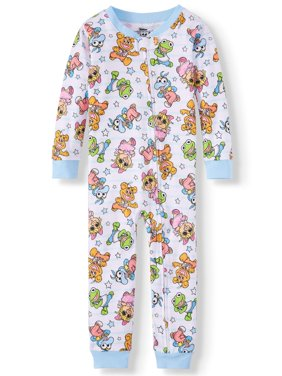Cotton Footless Pajama Sleeper (Baby Boys & Toddler Boys)