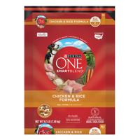Purina ONE SmartBlend Natural Chicken & Rice Formula Adult Dry Dog Food - 16.5 lb. Bag