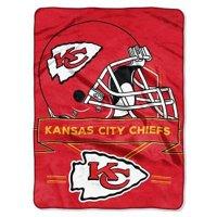 """NFL Kansas City Chiefs """"Prestige"""" 60"""" x 80"""" Raschel Throw"""