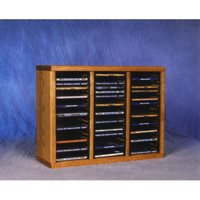 Wood Shed 300 Series 60 CD Multimedia Tabletop Storage Rack