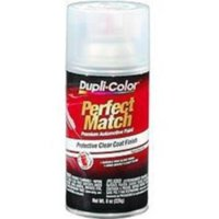 Krylon BCL0125 Perfect Match Automotive Paint, Clear Top Coat, 8 Oz Aerosal Can