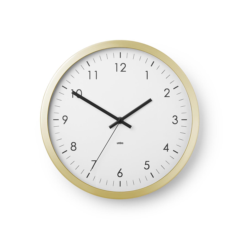 Wall clock for office Modern Wall Clock 12inch With Metal Rim Home Office School Walmart Office Wall Clocks