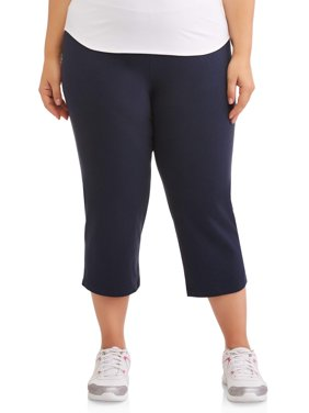 "Athletic Works Women's Plus Dri More 22"" Core Capri"