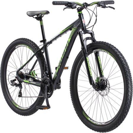 29 Men S Schwinn Boundary Mountain Bike Dark Green And Black