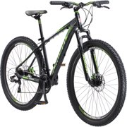 "29"" Men's Schwinn Boundary Mountain Bike, Dark Green and Black"