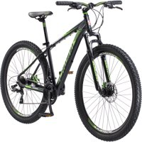 "29"" Men's Schwinn Boundary Mountain Bike, Dark Green and Black"