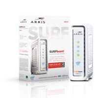 ARRIS SURFboard SB6190 (32x8) Cable Modem, DOCSIS 3.0   Certified for XFINITY by Comcast, Spectrum, Time Warner, Cox & more   1.4 Gbps Max Speed   White