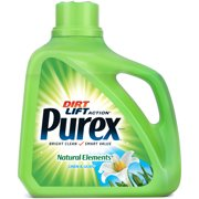 Purex Liquid Laundry Detergent, Natural Elements Linen & Lilies, 150 Fluid Ounces, 100 Loads