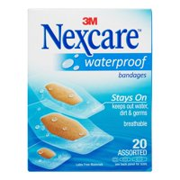 Nexcare™ Waterproof Bandages, Assorted 20 ct