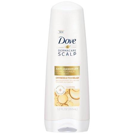 Dove Dermacare Dryness & Itch Relief Anti-Dandruff Conditioner, 12 oz