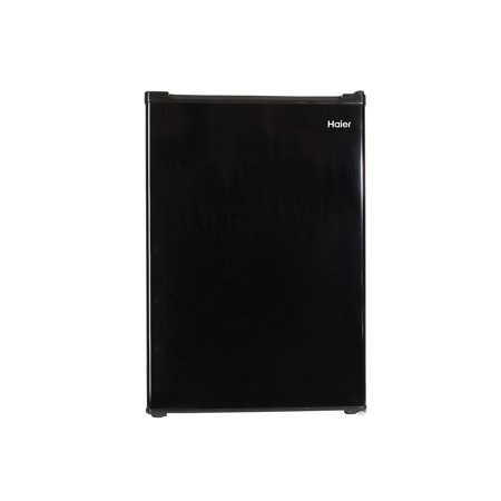 Haier 3.3 Cu Ft Single Door Compact Refrigerator HC33SW20RB, Black (Haier White Refrigerator)