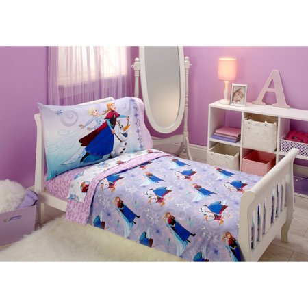 Disney Frozen 4-Piece Toddler Bedding Set Unleash the - Blossoms Toddler Bedding