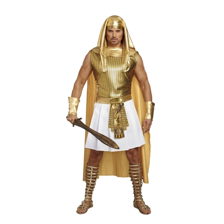 Dreamgirll Men's Ramses Egyptian Costume Set - King Ramses Costume