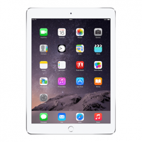 Refurbished iPad Air 2 Wifi Silver 16GB WiFi + Cellular (MH2V2LL/A)(2014) 1 Year Warranty