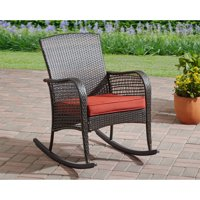 Mainstays Cambridge Park Wicker Outdoor Rocking Chair
