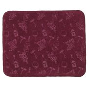 Embossed Wine And G Kitchen Countertop Drying Mat Kay Dee