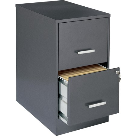Lorell 2 Drawers Vertical Steel Lockable Filing Cabinet, Gray 2 Drawer Legal File Cabinet