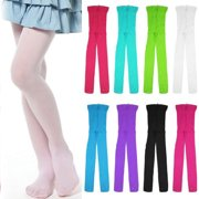8df137c9f1748 Kids Baby Girls Velvet Tights Toddler Soft Pantyhose Elastic Warm Stockings  Socks Black S
