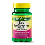 Spring Valley Soy Isoflavones Tablets, 40 mg, 60 Ct