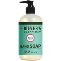 (3 Pack) Mrs. Meyer's Liquid Hand Soap, Basil, 12.5 Oz