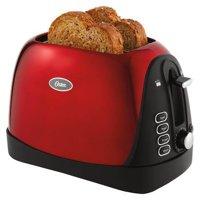 Oster 2-Slice Toaster, Red, TSSTTRJB2R