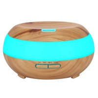 KEDSUM Aroma Essential Oil Diffuser Wood Grain Ultrasonic Cool Mist Aromatherapy Humidifier 300ml