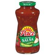 (2 Pack) Pace Chunky Salsa, Mild, 24 oz. Jar