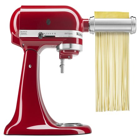 kitchenaid 3 piece pasta roller cutter mixer attachment set rh walmart com