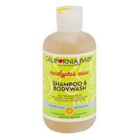 California Baby Eucalyptus Ease Shampoo & Bodywash, 8.5 FL OZ