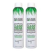 (2 pack) Not Your Mother's Clean Freak Refreshing Dry Shampoo, 7 oz