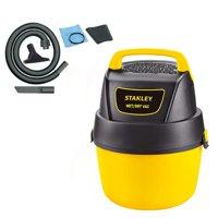 Stanley 1 Gallon 1.5 Horsepower Portable Wet Dry Vacuum (Certified Refurbished)