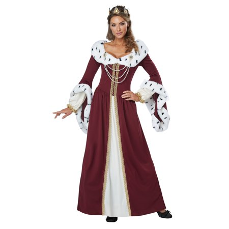 Royal Storybook Queen Adult Costume - Favorite Storybook Character Costumes
