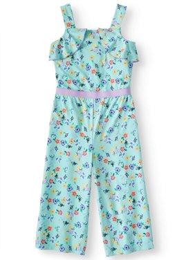 Ruffle Jumpsuit (Little Girls, Big Girls & Big Girls Plus)